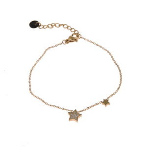 armband goud ster ster zironia (2)