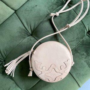 BERGAMO BAG leather off-white