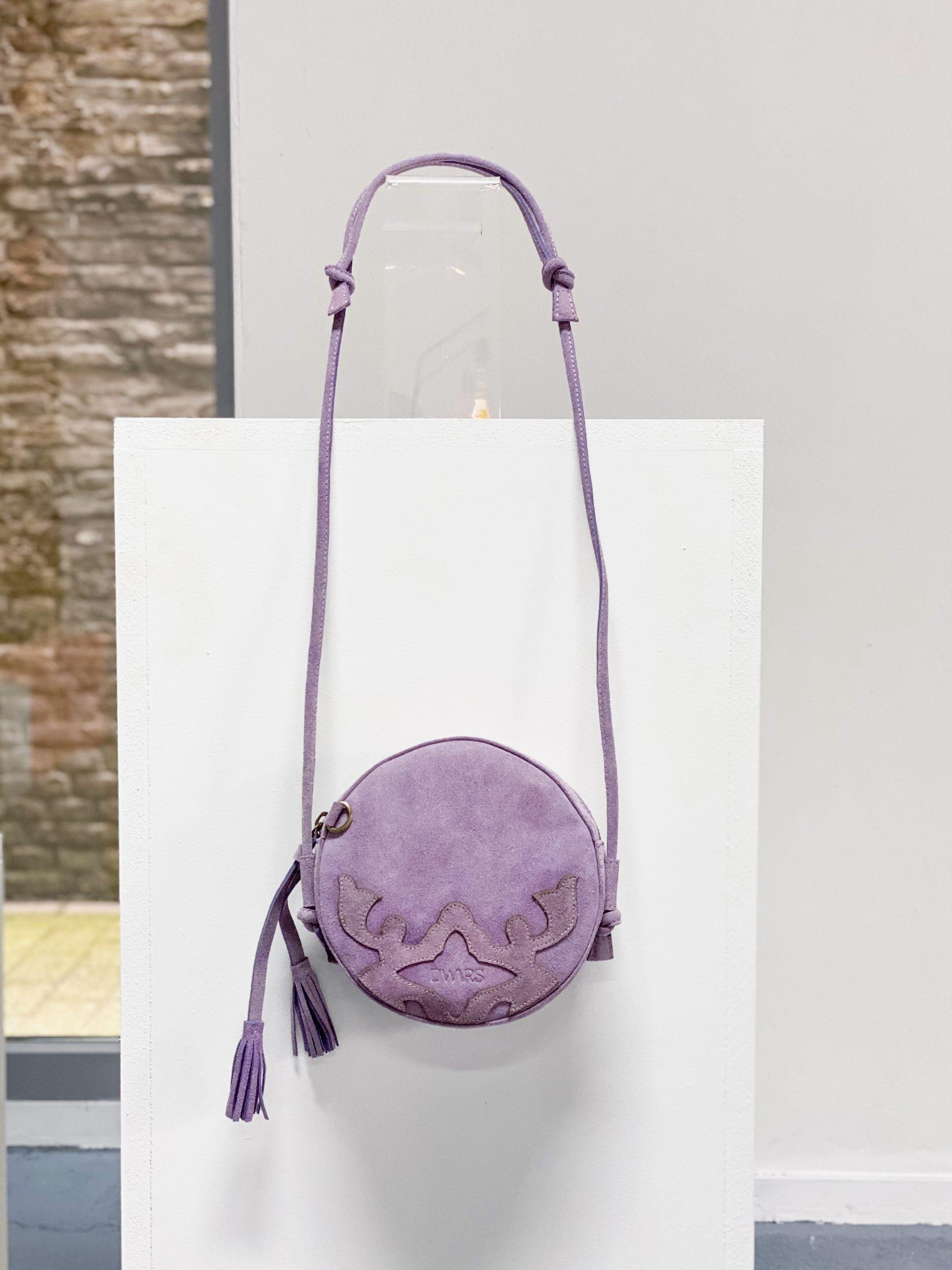 BERGAMO BAG suede lilac2
