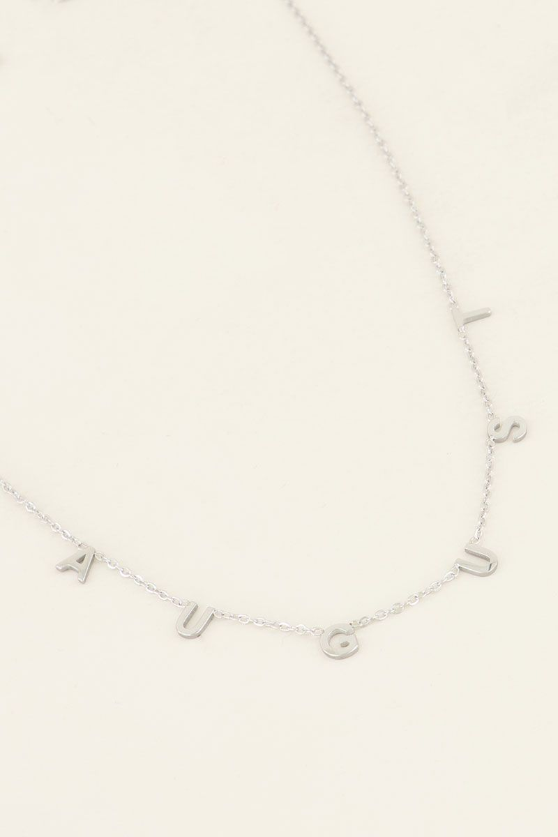 ketting aug zilver