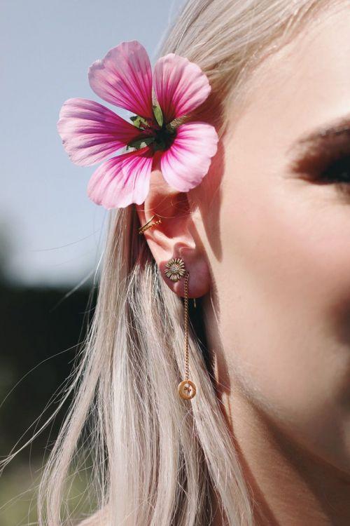 oorbellen studs daisy