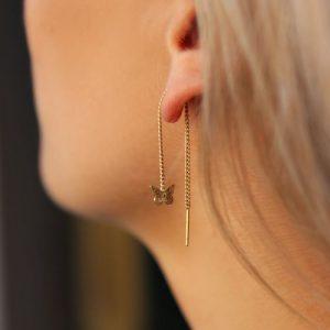 oorbellen vlinder goud3