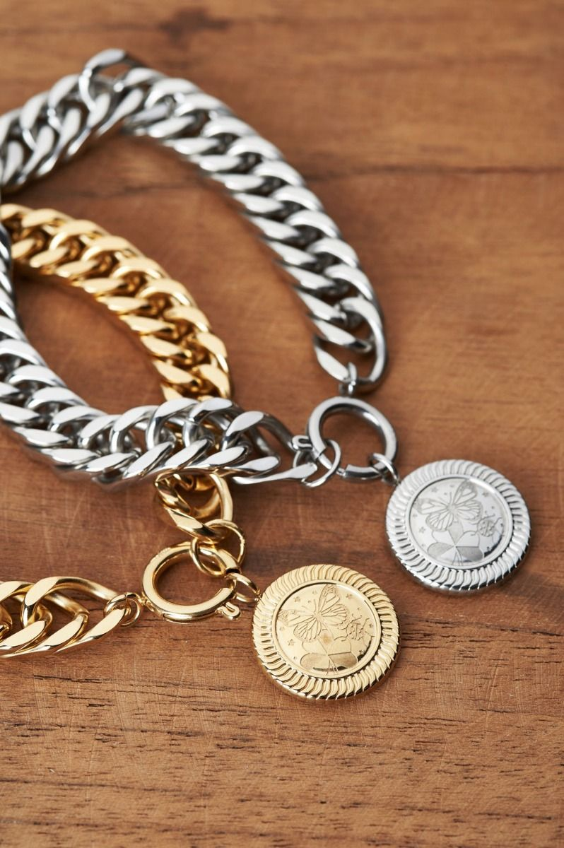 schakelarmband-lucky-coin